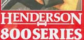 Henderson 800 Series 1988