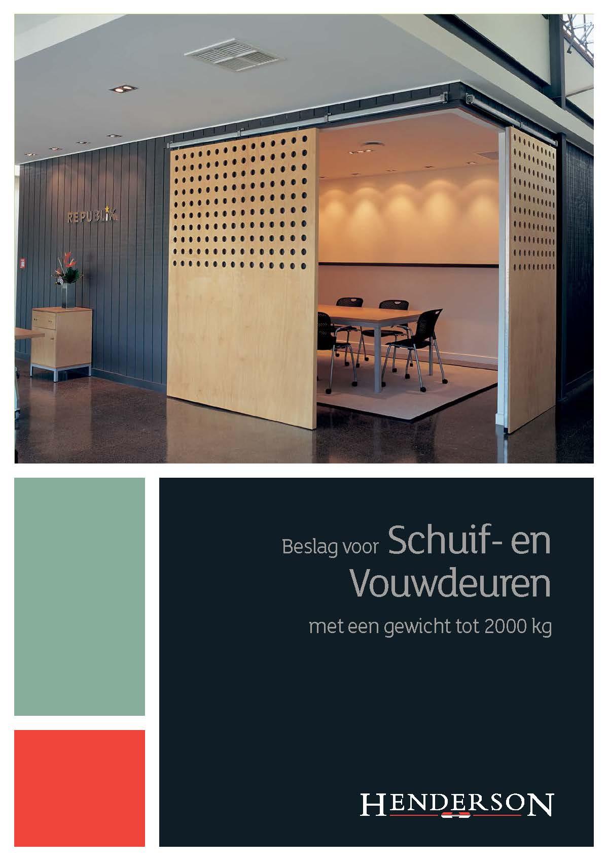 Brochure - Industrieel tot 2000kg Brochure