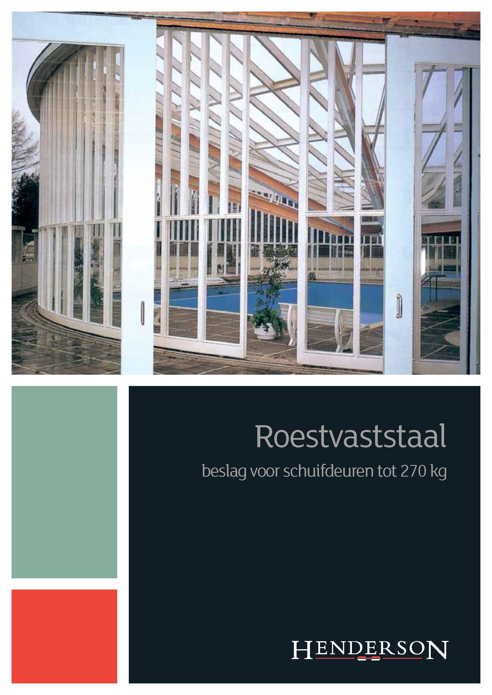 Brochure - RVS tot 270kg Brochure