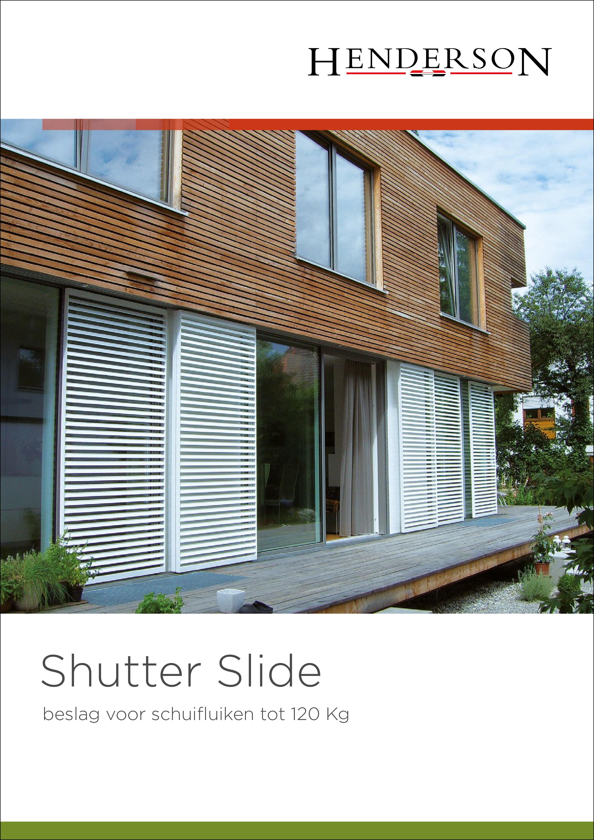 Brochure - Shutter Slide Brochure