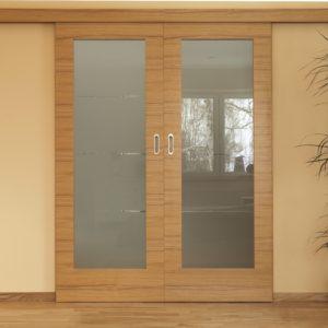 Marathon Double Wooden Doors